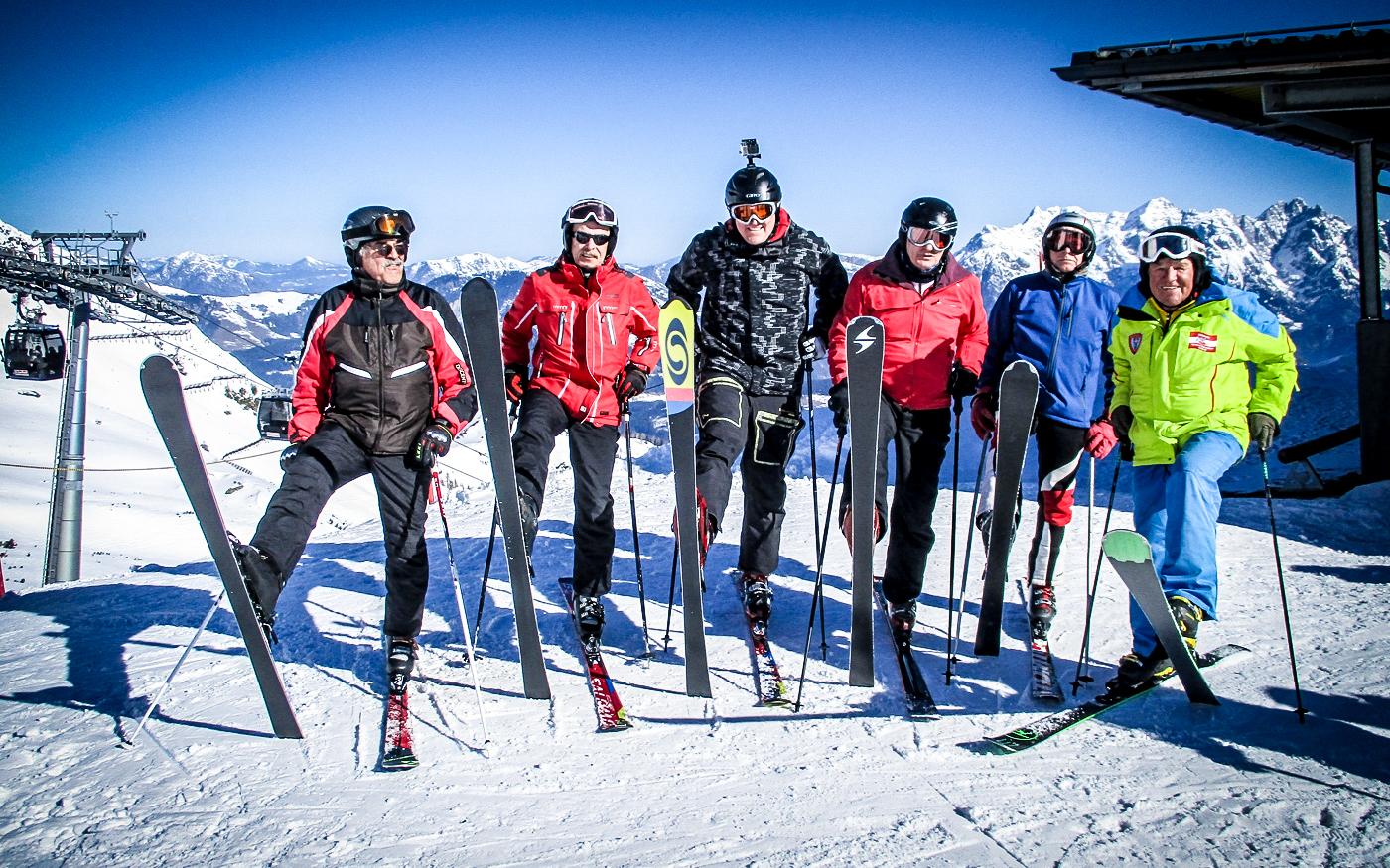 Ski Heil von Reckmoos Süd