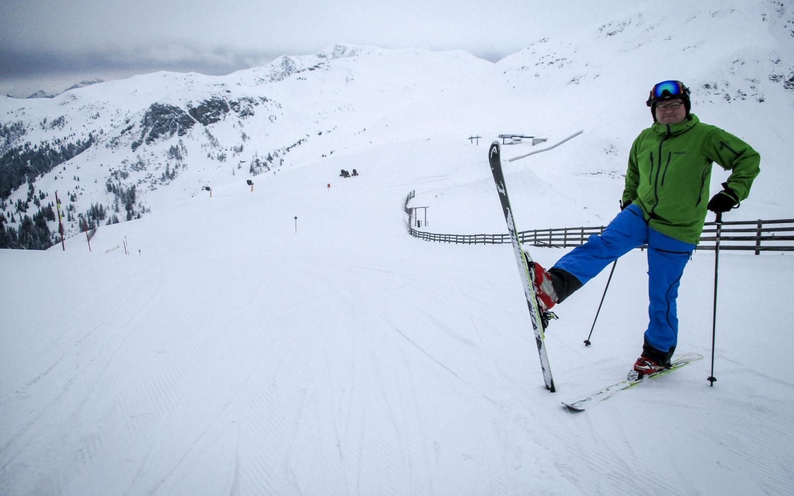 Ski Heil vom Zwölferkogel