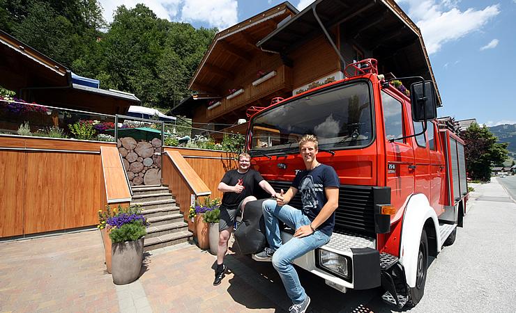 Oldtimer Feuerwehr Auto