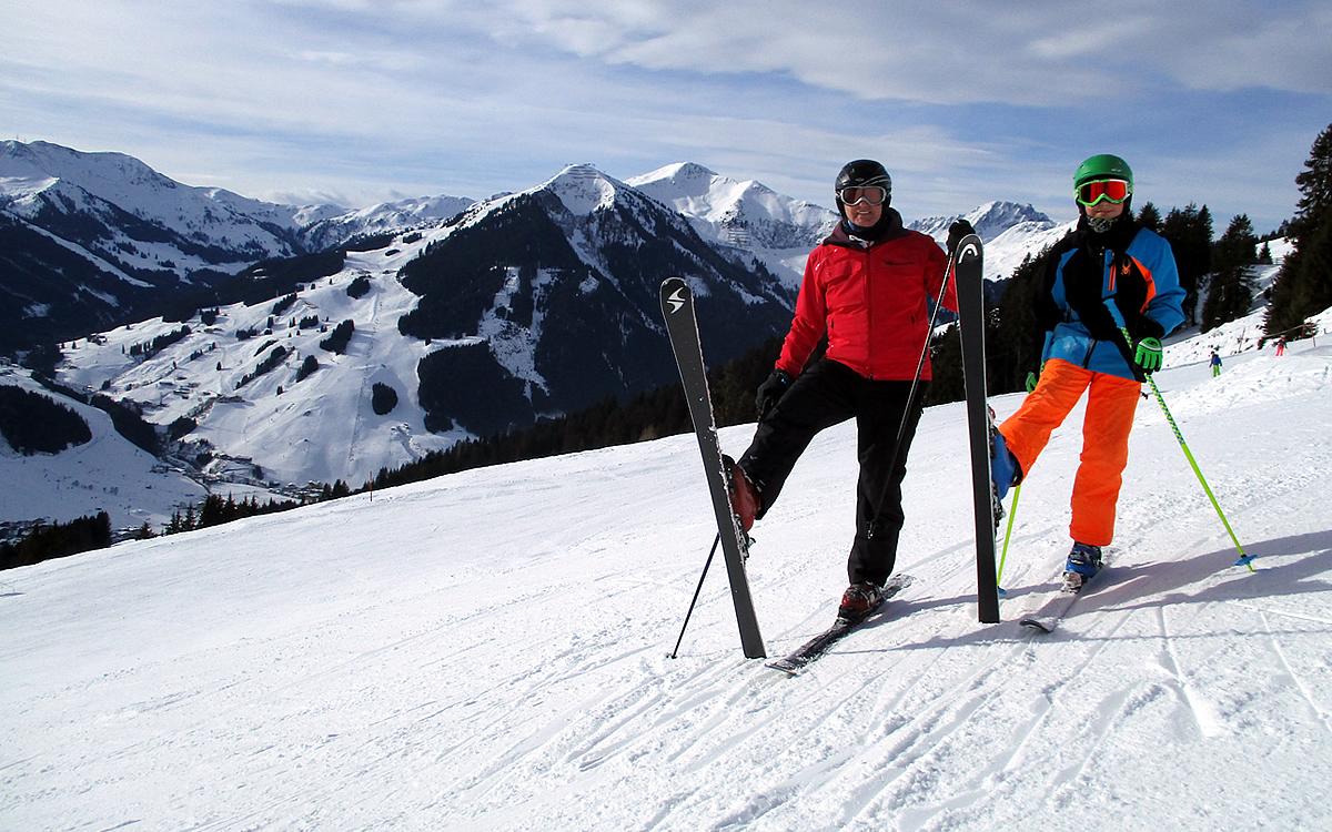 Ski Heil aus Hinterglemm