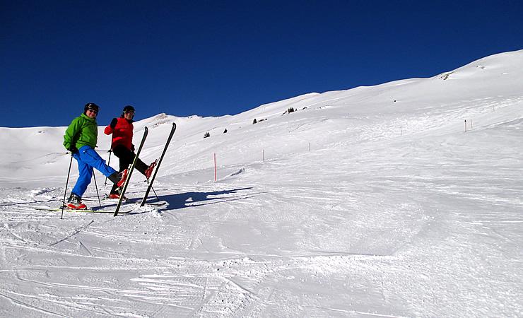 Ski Heil am Spieleck-Schlepplift