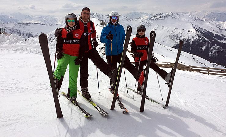 Ski Heil vom Westgipfel