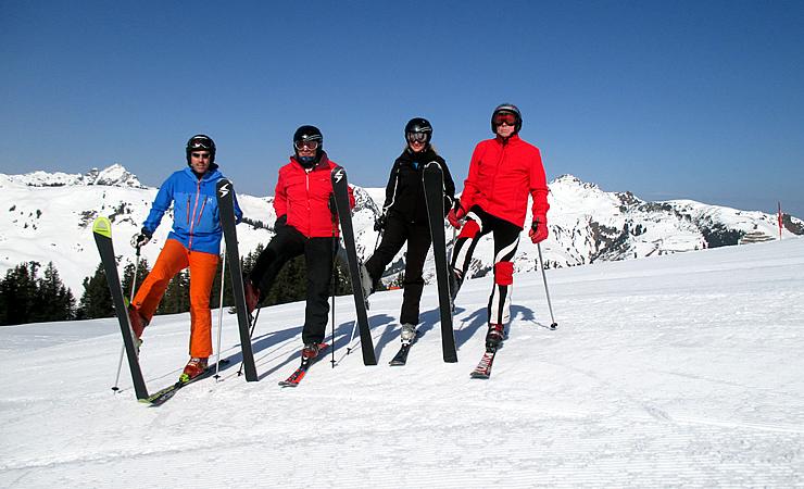 Ski Heil vom Reiterkogel
