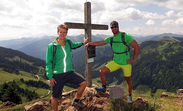 Gipfelkreuz Kleberkopf